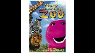 Barney:Let's Go To The Zoo (2003 Version)