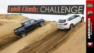 Competition-Offroad Climb: Endeavour, Storme, Xenon, Pajero Sport, Isuzu V-Cross