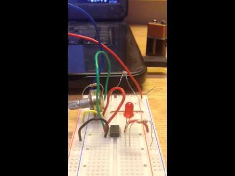 Temperature Indicator Circuit
