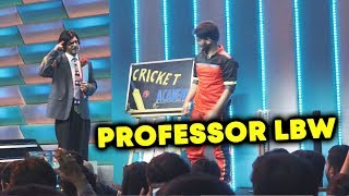 Sunil Grover Professor LBW | BEST COMEDY At Jio Dhan Dhana Dhan Show Launch | IPL 2018
