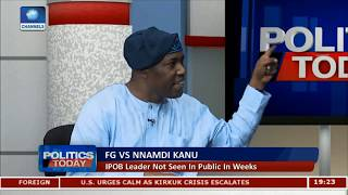 FG Vs Kanu: We Are Faced With The Issue Of Crisis Management - Martins Oloja |Politics Today|