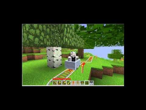 MineCraft Roller Coaster