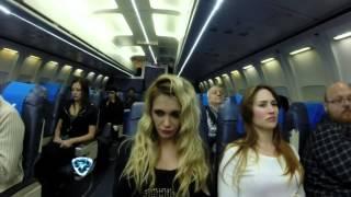 Showmatch 2014 - El peor viaje en la vida de Melina Pitra