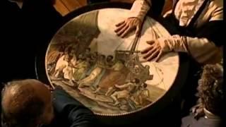 Allan Kardec com as mesas girantes