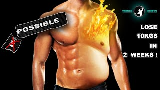 LOSE 10KGS IN 2 WEEKS! BURN 1KG OF FAT EVERY DAY! - THE 9 MINUTES OF EXTREME FAT DESTROYER PROGRAM