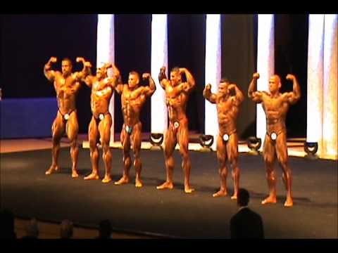 Compulsory comparison six group Arnold Classic Europe 2011