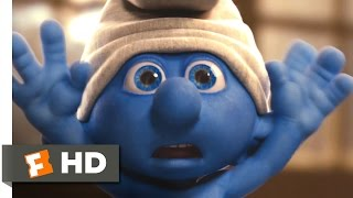 The Smurfs (2011) - Clumsy in the Bathroom Scene (3/10) | Movieclips
