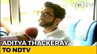 EXCLUSIVE - Aditya Thackeray Speaks To NDTV   Watch Full Interview