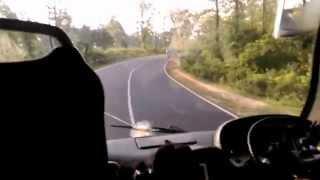 Zakir Vai with GreenLine Scania