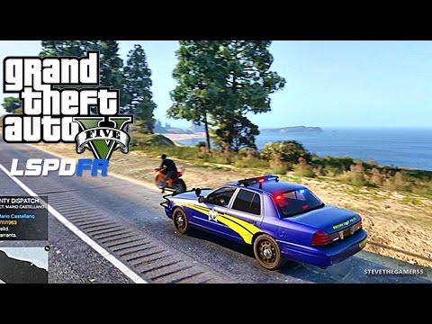 GTA 5 LSPDFR 0.3.1 - EPiSODE 87 - LET'S BE COPS - STATE TROOPER (GTA 5 PC POLICE MODS) OREGON