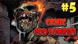 Victis escapando de la Tierra vacía con el Kronorium: Comic Cod Zombies #5