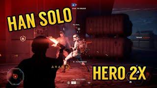 Star Wars Battlefront 2- Solo & Liea Killstreak On