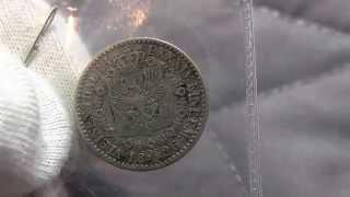 1/6 German Silver Thaler - Dated 1826