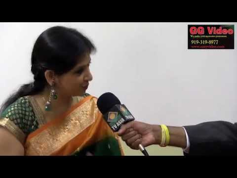Ajoy & Kaushiki Chakraborty Interview at North Carolina