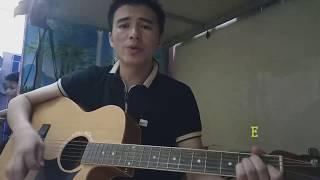 TsomXyooj :Tsis Yog Kuv Nyiam Koj Lawm Los Cover Guitar by : TubLais Lee