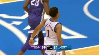 Kansas State vs Kansas Massive Brawl Breaks Out   2020 College Basketball