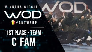 C Fam | 1st Place Team Division | World of Dance Antwerp Qualifier 2018 | Winners Circle