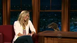 The Late Late Show with Craig Ferguson - Kristen Bell & Wavy the Crocodile + SK titulky