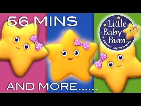 Twinkle Twinkle Little Star | Plus Lots More Nursery Rhymes | 56 Minutes from LittleBabyBum!