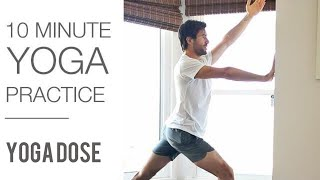 10 minute Yoga Class (Great for Beginners)