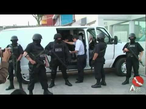 Captura AVI banda de secuestradores del estado de Veracruz