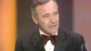 Jack Lemmon Wins Best Actor: 1974 Oscars