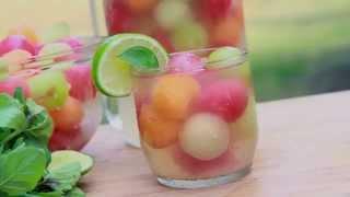 Melon Ball Punch Recipe (Summer in a Glass!)
