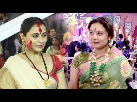 Xxx Mp4 Rani Mukherjee S Sister Durga Puja 2018 Celebrations 3gp Sex