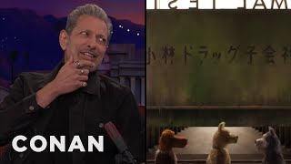 "Jeff Goldblum Recorded His Part In ""Isle Of Dogs"" Over The Phone  - CONAN on TBS"