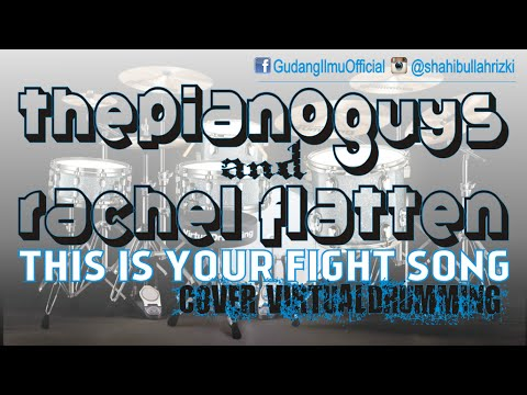This Is Your Fight Song Rachel Platten Scottish Cover Re Cover Virtual Drumming