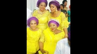 Yoruba Actor Dele Odule's Daughter Marriage in Ibadan See How Asewo to re Mecca Dance Her Heart Out