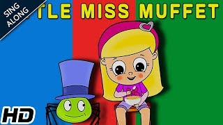 Little Miss Muffet SING ALONG Nursery Rhyme For Children   Popular Nursery Song   Shemaroo Kids