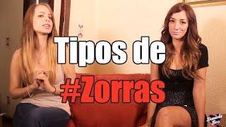 Tipos de #zorras