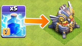 PAYBACK TIME!!!😀 X5 LIGHTING CHALLENGE!!😀Clash Of Clans