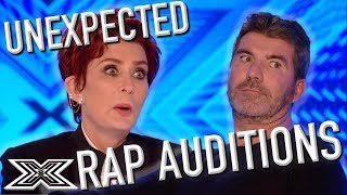 UNEXPECTED Rap Auditions on The X Factor | X Factor Global