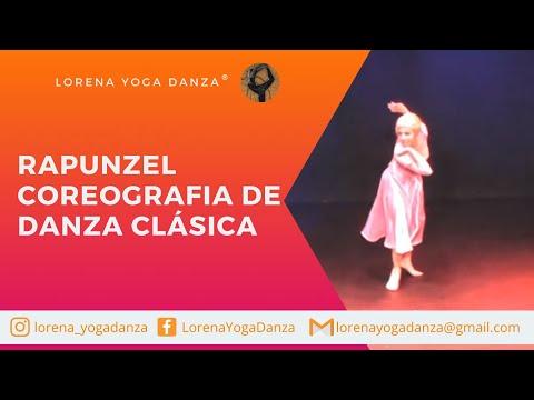 RAPUNZEL coreografia de danza clásica.maestra Lorena Galvez.