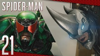 Spider-Man (ITA)-21- Il Rinoceronte e lo Scorpione, BOSS Rhino & Scorpion