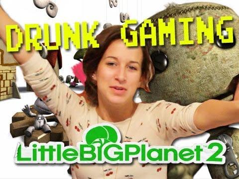 Drunk Gaming Little Big Planet 2