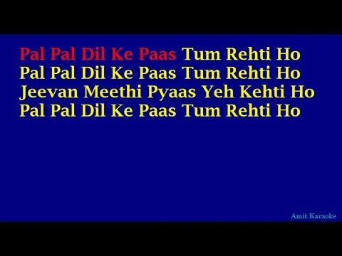Xxx Mp4 Pal Pal Dil Ke Paas Kishore Kumar Hindi Full Karaoke With Lyrics 3gp Sex