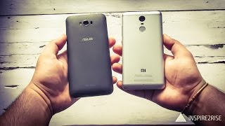 Xiaomi Redmi Note 3 VS ASUS Zenfone Max 2016 comparison review