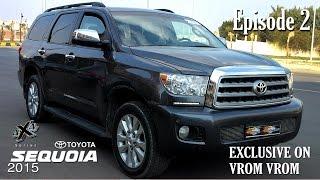 Toyota Sequoia 2015 | 4X4 Series | Episode 2 | تويوتا سيكويا 2015 | سلسلة الدفع الرباعى