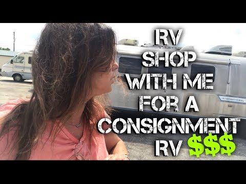 RV CONSIGNMENT~ WHERE THE DEALS ARE ! SHOP WITH ME...