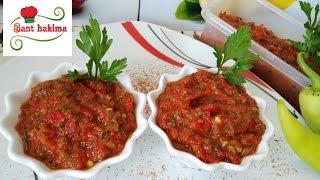 صلصة المطاعم التركية الحارة لمحبي الأطباق الحارة