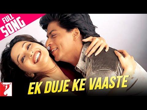 Ek Duje Ke Vaaste - Full Song   Dil To Pagal Hai   Shah Rukh Khan   Madhuri Dixit