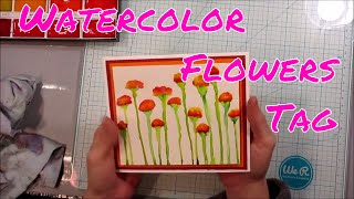 Tutorial: Watercolor Drip Flowers -  Inspired by The Shelley Studio!