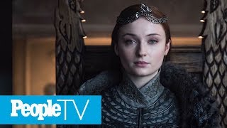 Sophie Turner's Year-Old Arm Tattoo Was A Game Of Thrones Finale Spoiler All Along   PeopleTV