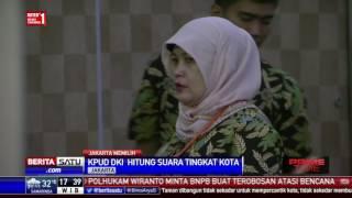 KPU DKI Jakarta Mulai Hitung Suara Tingkat Kota