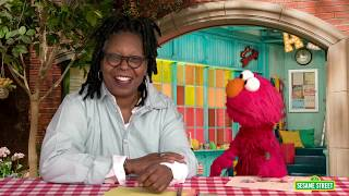 Sesame Street: Whoopi Goldberg and Elmo Draw Picture for Pen Pal in Syria