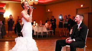 Awesome! - Bride sings Etta James - At Last