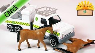 FEUERWEHRMANN SAM Pferde und TIERRETTUNG! Dickie Toys Jeep Set neue Folge 2107